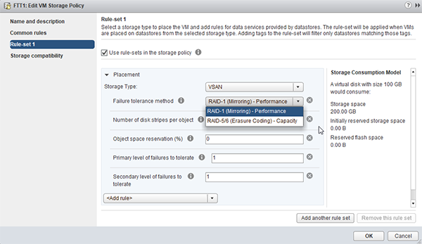 VM存储策略如何提升vSAN集群冗余?